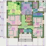 Одноэтажные щитовые дома эконом класса с верандой